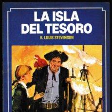 Libros de segunda mano: LA ISLA DEL TESORO - R LOUIS STEVENSON - BRUGUERA HISTORIAS COLOR 1983. Lote 210593822