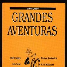Libros de segunda mano: GRANDES AVENTURAS TOMO 4 - EL PERIÓDICO. Lote 210594125