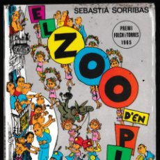 Libros de segunda mano: EL ZOO D'EN PITUS - SEBASTIÀ SORRIBAS - LA GALERA 1987 - CATALÀ. Lote 210599943