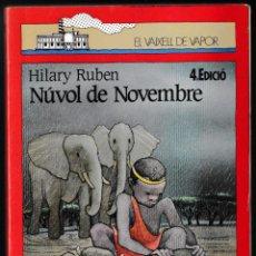 Libros de segunda mano: NÚVOL DE NOVEMBRE - HILARY RUBEN - CRUILLA 1988 - CATALÀ. Lote 210600090