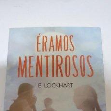 Libri di seconda mano: ERAMOS MENTIROSOS AUTOR: E. LOCKHART. Lote 210602905