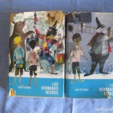 Libros de segunda mano: LISA TETZNER. LOS HERMANOS NEGROS.2 VOL. EDITORIAL NOGUER 1961.. Lote 211597207