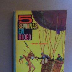 Libros de segunda mano: 5 SEMANAS EN GLOBO - JULIO VERNE - TOMO 10 - EDICIONES EVA - 1964. Lote 211618425
