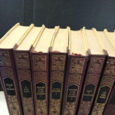 Libros de segunda mano: COLECCIÓN DE 17 LIBROS DE JULIO VERNE. Lote 213222463