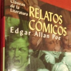 Libros de segunda mano: RELATOS CÓMICOS, EDGAR ALLAN POE. Lote 213438122