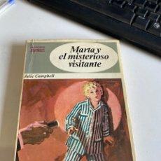 Libros de segunda mano: MARTA Y EL MISTERIOSO VISITANTE. Lote 213931583