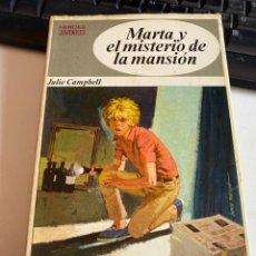Libros de segunda mano: MARTA Y EL MISTERIO DE LA MANSIÓN. Lote 213954227