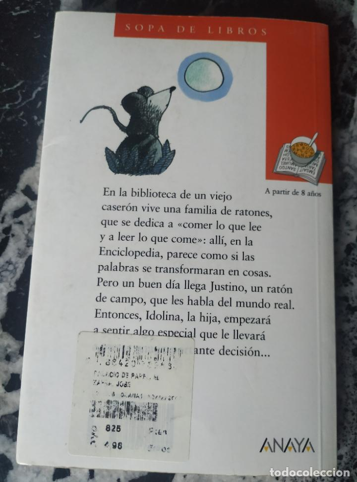 Libros de segunda mano: El palacio de papel. José Zafra. Sopa de Libros. Anaya. 2000. 97 pág. - Foto 2 - 214092421