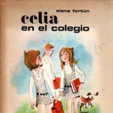 Libros de segunda mano: ELENA FORTUN : CELIA EN EL COLEGIO (AGUILAR, 1973) ILUSTRADO POR MUNOA. Lote 214359688