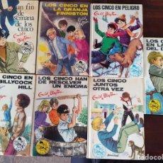 Libros de segunda mano: 7 NOVELAS DE LOS CINCO. ENID BLYTON. EDITORIAL JUVENTUD S.A. Lote 214834433