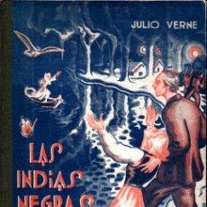 Libros de segunda mano: JULIO VERNE . LAS INDIAS NEGRAS (SAENZ DE JUBERA). Lote 216590987