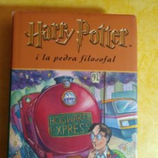 Libros de segunda mano: HARRY POTTER I LA PIEDRA FILOSOFAL, EN CATALAN J.K. ROWLING, PYMY 14. Lote 217039568