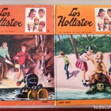 Libros de segunda mano: LOTE 2 LIBROS LOS HOLLISTER. NÚMEROS 3 Y 17. Lote 217252607