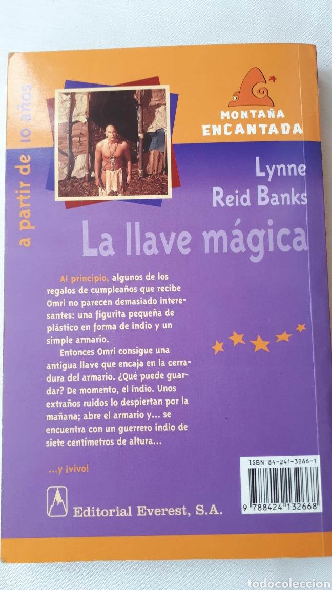 Libros de segunda mano: LA LLAVE MÁGICA - LYNNE REID - Foto 2 - 217350720