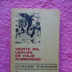 Livres d'occasion: VEINTE MIL LEGUAS DE VIAJE SUBMARINO EDITORIAL BRUGUERA 1973 COLECCIÓN HISTORIAS SELECCIÓN 1. Lote 217786816