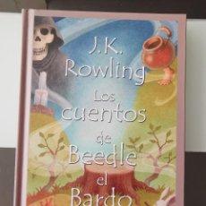 Libros de segunda mano: LIBRO HARRY POTTER LOS CUENTOS DE BEEDLE EL BARDO JK ROWLING MBE SALAMANDRA 1ª. Lote 218032645