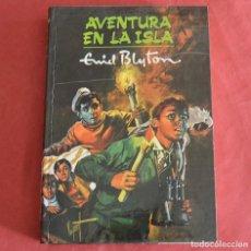 Libros de segunda mano: AVENTURA EN LA ISLA - ENID BLYTON - COLECCIÓN AVENTURA Nº 1 - MOLINO 1959. Lote 218348772