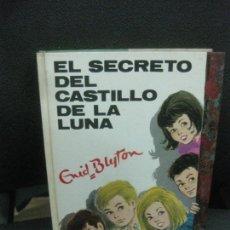 Libri di seconda mano: ENID BLYTON.EL SECRETO DEL CASTILLO DE LA LUNA. ..Nº 41 . EDITORIAL JUVENTUD 1973.. Lote 218483107