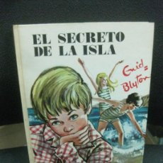 Libri di seconda mano: ENID BLYTON. EL SECRETO DE LA ISLA..Nº 46 . EDITORIAL JUVENTUD 1978.. Lote 218485035