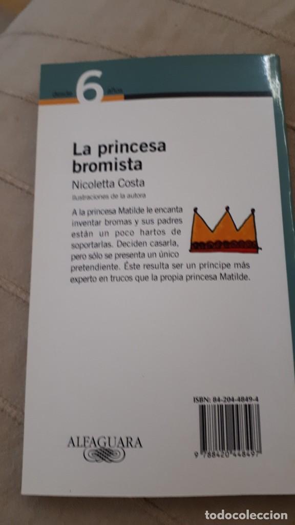 Libros de segunda mano: La princesa bromista - Nicoletta Costa - Foto 2 - 218584530