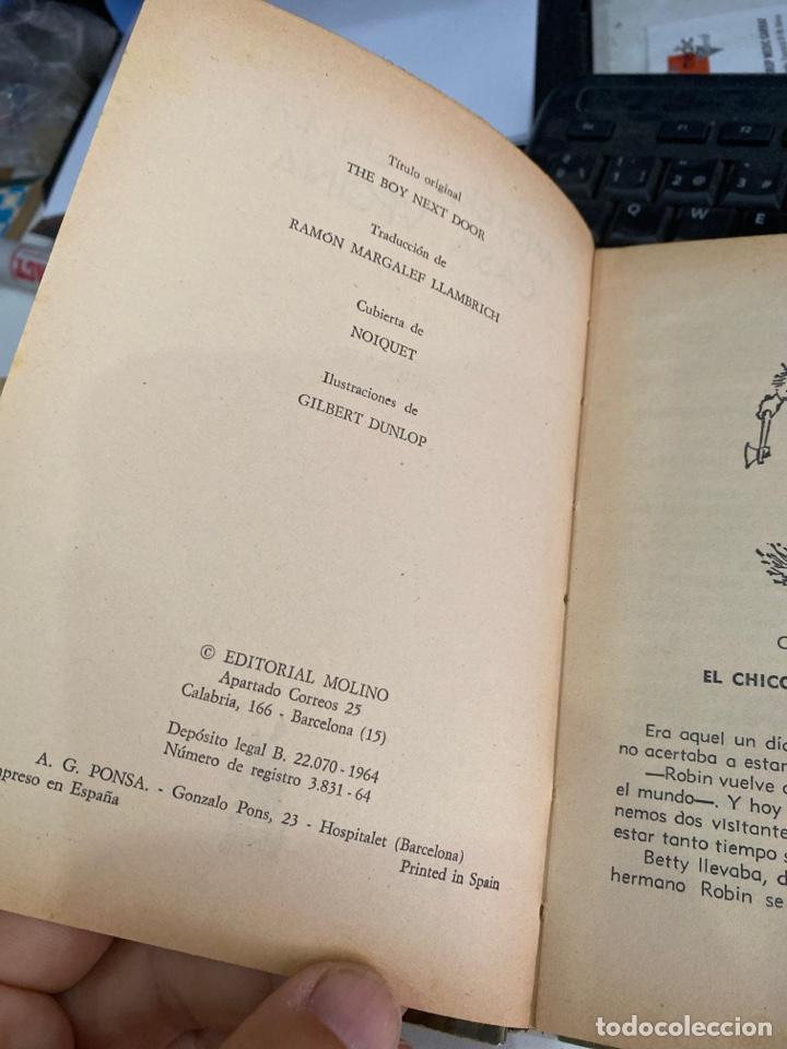 Libros de segunda mano: Misterio en la casa vecina - Foto 3 - 218806292