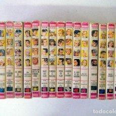 Libros de segunda mano: LOTE ED. BRUGUERA HISTORIAS SELECCIÓN 17 TÍTULOS DOS AÑOS DE VACACIONES, IVANHOE, SISSI.... Lote 219197496