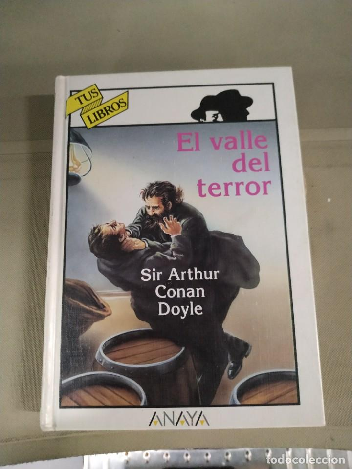 EL VALLE DEL TERROR - ARTHUR CONAN DOYLE. ANAYA TUS LIBROS 153 (Libros de Segunda Mano - Literatura Infantil y Juvenil - Novela)