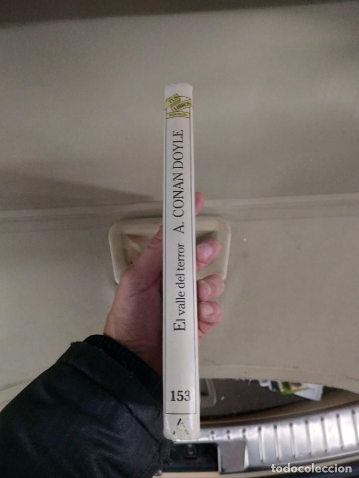 Libros de segunda mano: El Valle del Terror - Arthur Conan Doyle. Anaya tus Libros 153 - Foto 2 - 219495965