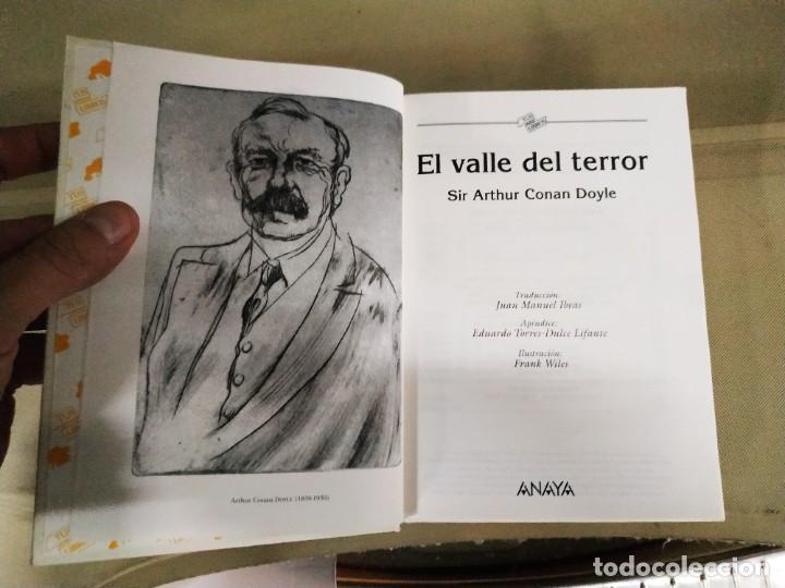 Libros de segunda mano: El Valle del Terror - Arthur Conan Doyle. Anaya tus Libros 153 - Foto 5 - 219495965