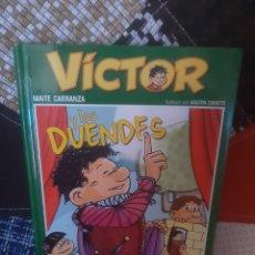 Libros de segunda mano: LIBRO VÍCTOR Y LOS DUENDES DE MAITE CARRANZA. N° 3. Lote 219849197