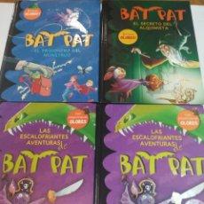 Libros de segunda mano: LAS ESCALOFRIANTES AVENTURAS DE BAT PAT. LOTE DE 4 LIBROS S1183T. Lote 221756158