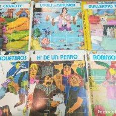 """Libros de segunda mano: 15 CUENTOS INFANTILES EN DIAPOSITIVAS """"CLÁSICOS INFANTILES"""" S1184T. Lote 221760437"""