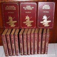 Libros de segunda mano: COLECCIÓN VIAJES EXTRAORDINARIOS 15T POR JULIO VERNE DE ED. GMS EN BARCELONA 1990. Lote 221581771