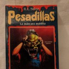 Libri di seconda mano: PESADILLAS 12. LA MÁSCARA MALDITA. EDICIONES B 1996. 129PGS. Lote 222390033