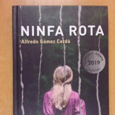 Libros de segunda mano: NINFA ROTA / ALFREDO GÓMEZ CERDÁ / 1ª ED 2019. ANAYA. Lote 222464897