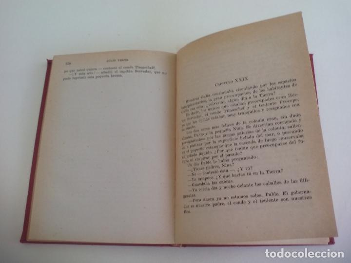 Libros de segunda mano: HECTOR SERVADAC. JULIO VERNE. 1956. COLECCIÓN ROBINSONES Nº 22. EDITORIAL MIGUEL ARIMANY - Foto 2 - 222731325