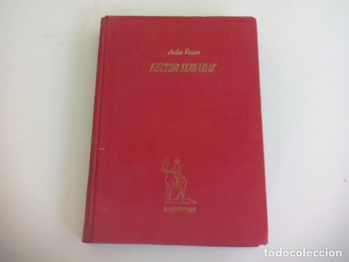 HECTOR SERVADAC. JULIO VERNE. 1956. COLECCIÓN ROBINSONES Nº 22. EDITORIAL MIGUEL ARIMANY (Libros de Segunda Mano - Literatura Infantil y Juvenil - Novela)