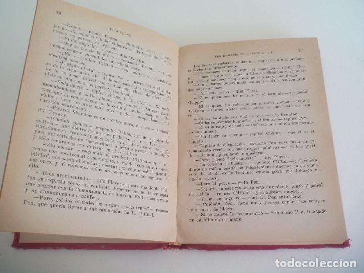 Libros de segunda mano: LOS INGLESES EN EL POLO NORTE. JULIO VERNE. 1957 COLECCIÓN ROBINSONES Nº 29 EDITORIAL MIGUEL ARIMANY - Foto 2 - 222732125