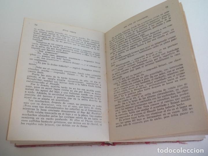 Libros de segunda mano: DOS AÑOS DE VACACIONES. JULIO VERNE COLECCION ROBINSONES 32 EDITORIAL MIGUEL ARIMANY - Foto 2 - 222739256