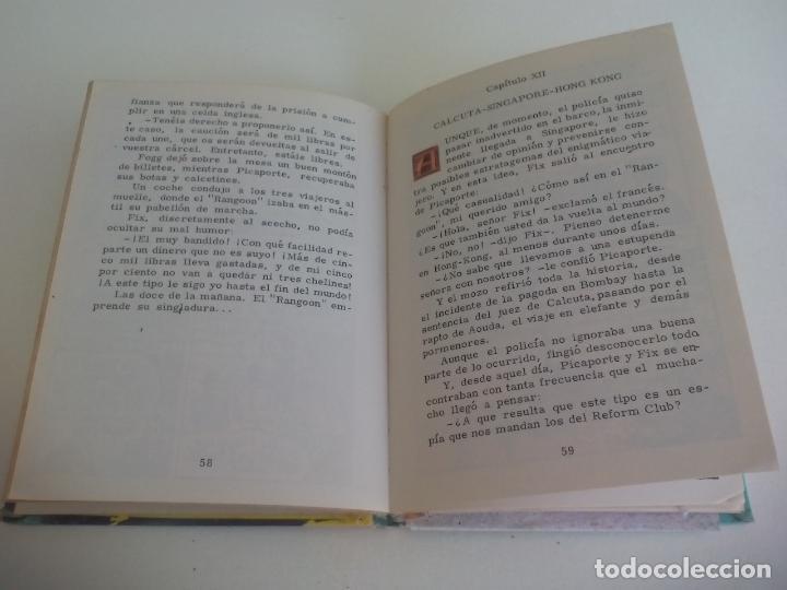 Libros de segunda mano: LA VUELTA AL MUNDO EN 80 DIAS. JULIO VERNE. 1963. EDITORIAL VASCO AMERICANA. Nº 4 - Foto 2 - 222740331