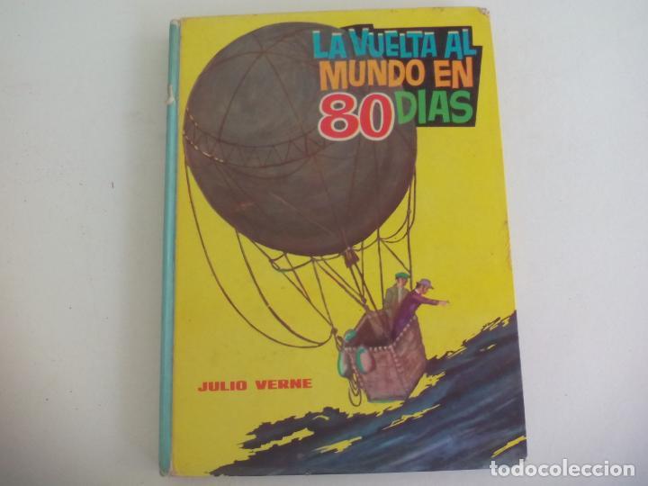 LA VUELTA AL MUNDO EN 80 DIAS. JULIO VERNE. 1963. EDITORIAL VASCO AMERICANA. Nº 4 (Libros de Segunda Mano - Literatura Infantil y Juvenil - Novela)