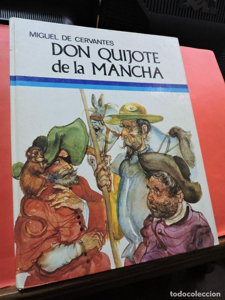 DON QUIJOTE DE LA MANCHA. DE CERVANTES, MIGUEL. EDICIONES SUSAETA. MADRID 1975. (Libros de Segunda Mano - Literatura Infantil y Juvenil - Novela)