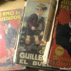 Libros de segunda mano: 3 GUILLERMO HACE DE LAS SUYAS . EL BUENO . EL CONQUISTADOR CROMPTON ED MOLINO 1940 (1ª EDICION 1959. Lote 222920778