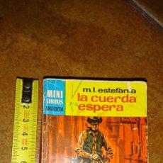 Libros de segunda mano: MINI LIBRO BRUGUERA, SERIE OESTE, M. L. ESTEFANIA, AÑO 1968. Lote 223548007