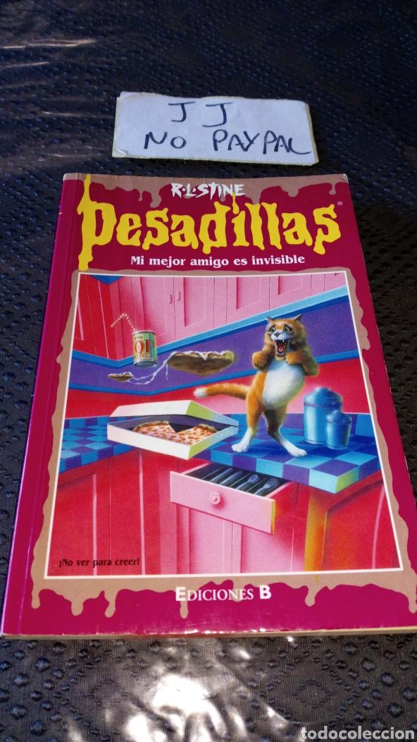 PESADILLAS 55 MI MEJOR AMIGO ES INVISIBLE VER FOTOS ESTADO LOMO ALGUNA ARRUGA, PRIMERA PÁGINA BOLI (Libros de Segunda Mano - Literatura Infantil y Juvenil - Novela)