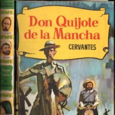 Libros de segunda mano: DON QUIJOTE DE LA MANCHA (HISTORIAS BRUGUERA, 1961) PRIMERA EDICIÓN. Lote 226290203