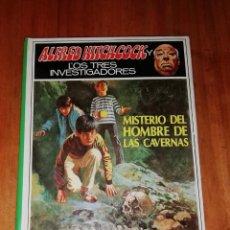 Livros em segunda mão: ALFRED HITCHCOCK Y LOS TRES INVESTIGADORES, Nº 34: MISTERIO DEL HOMBRE DE LAS CAVERNAS. Lote 227748305