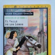 Libros de segunda mano: EL VALLE DE LOS LOBOS LAURA GALLEGO GARCÍA. Lote 228370020