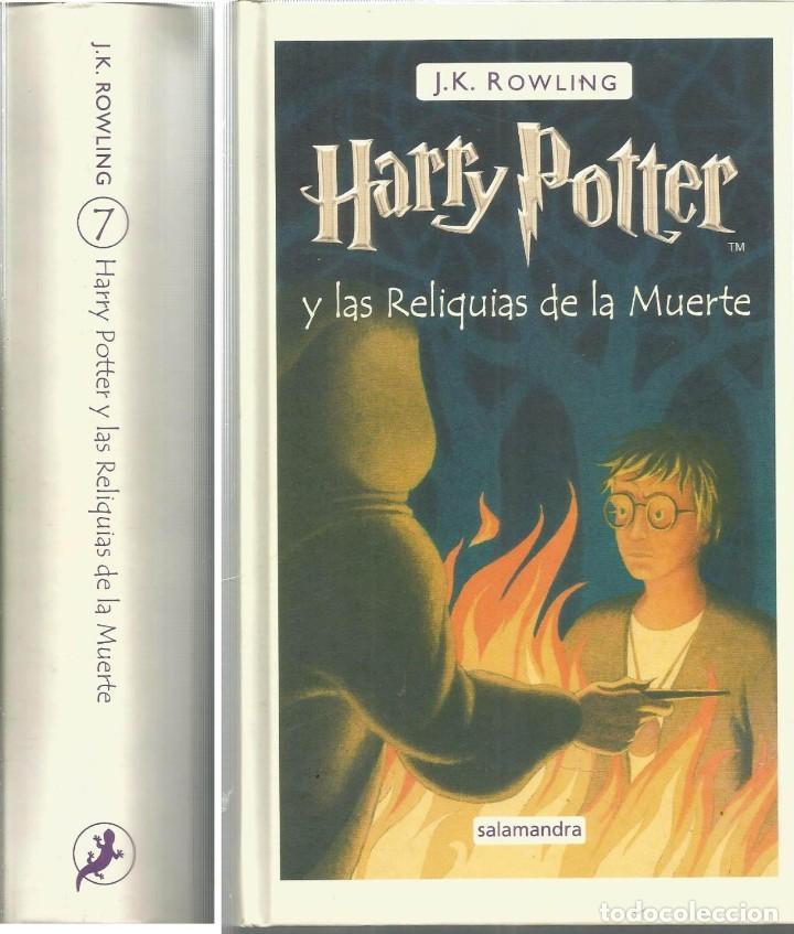 HARRY POTTER Y LAS RELIQUIAS DE LA MUERTE 1ª EDICION FEBRERO 2008 ROWLING. COMO NUEVO (Libros de Segunda Mano - Literatura Infantil y Juvenil - Novela)