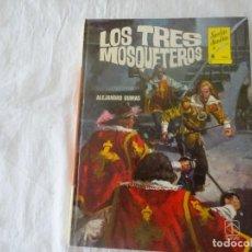 Libros de segunda mano: , LOS TRES MOSQUETEROS, ALEJANDRO DUMAS, NOVELAS MAESTRAS Nº 3, TORAY 1978. Lote 233307505